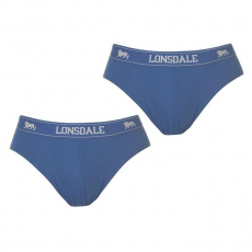 Lonsdale 2 darabos férfi alsónadrág kék M