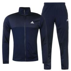 Adidas Basics Poly férfi melegítő szett tengerészkék L