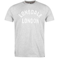 Lonsdale HTG Sn74 férfi póló szürke XXL