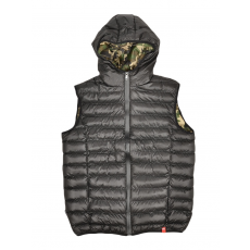 Dorko Snowball Vest Black/camo férfi mellény fekete XXL