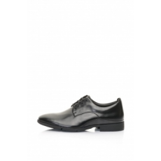 Clarks , Daulton Derby Cipő, Fekete, 7 (DAULTON-WALK-BLACK-LEATHER-7)