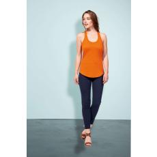 Sol\\\'s Sols Moka női trikó, Burnt Orange (Sols női trikó, ívelt aljjal.)