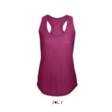 Sol\\\'s Sols Moka női trikó, Raspberry (Sols női trikó, ívelt aljjal.)