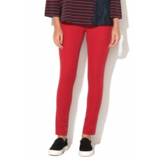 FRENCH CONNECTION , Street Skinny Nadrág, Piros, 16 (74IBO-CRANBERRY-CRUNCH-16)