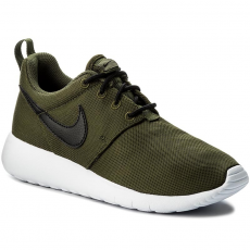 Nike Cipő NIKE - Roshe One (GS) 599728 303 Legion Green/Black/White