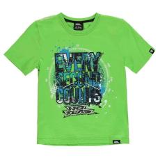 No Fear gyerek póló - Green Every Sec - No Fear Moto Graphic T Shirt Junior Boys