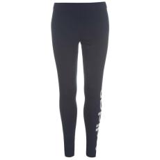 Adidas női edzőnadrág - sötétkék/fehér - adidas Linear Tights Ladies