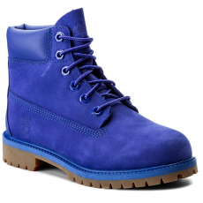 TIMBERLAND Bakancs TIMBERLAND - 6 In Premium Wp Boot A1MM5 Royal Blue