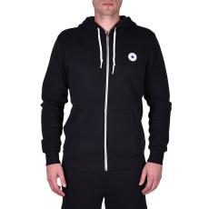 Converse Sweat Shirts férfi kapucnis cipzáras pulóver fekete XL
