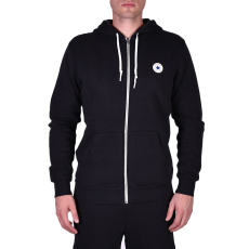 Converse Sweat Shirts férfi kapucnis cipzáras pulóver fekete XXL