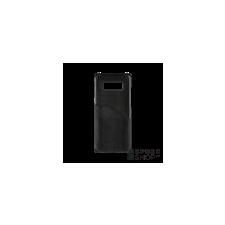 BUGATTI Londra Samsung N950 Galaxy Note 8 valódi bőr hátlap tok kártyatartóval, fekete tok és táska