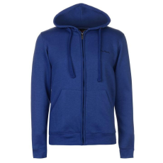 Pierre Cardin Férfi kapucnis cipzáras pulóver kék XL