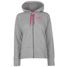 Nike női cipzáras kapucnis pulóver - Nike Dry FZ Hoody - szürke