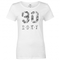 Roxy női póló - Roxy Itty Be Short Sleeve T Shirt - fehér
