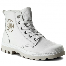 Palladium Bakancs PALLADIUM - Pampa Hi Leather 72355-100-M White