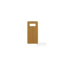 USAMS Joe Samsung N950 Galaxy Note 8 bőr hátlap tok, barna tok és táska