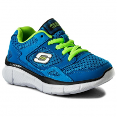Skechers Cipő SKECHERS - Equalizer 95515L/BLLM Blue/Lime