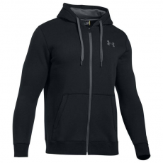 Under Armour Rival Fitted férfi kapucnis pulóver fekete S
