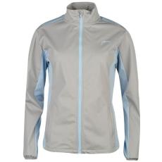 Slazenger női golf dzseki - Slazenger Softshell Golf Jacket - szürke/kék