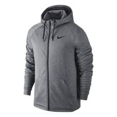Nike Therm FZ férfi kapucnis cipzáras pulóver szürke M