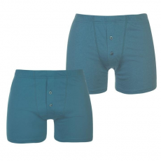 Slazenger férfi boxer, 2 db/csomag, Kék - Slazenger 2 Pack Boxers Mens