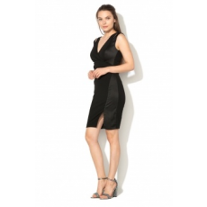 Lipsy London , Bodycon Ruha, Fekete, 10 (JD04610-BLACK-10)