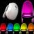 Mozgásérzékelős színes WC világítás fényérzékelővel, manuálisan is bekapcsolható 3db AAA elemmel működik