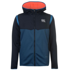 Canterbury Ped férfi kapucnis cipzáras polár pulóver kék M