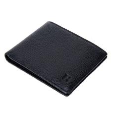 Fekete színű klasszikus férfi pénztárca (1176.)
