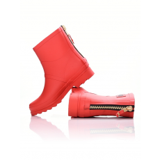 Dorko RED COLOR ANKLE BOOT WITH ZIPPER Csizma (D160270_0600)