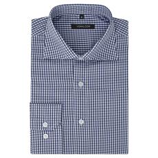 vidaXL Fehér és tengerészkék XL méretű férfi üzleti ing