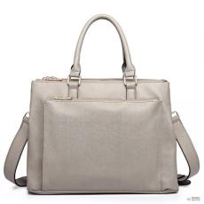 Miss Lulu London L1438 - Miss Lulu Grained Texture Work táska szürke