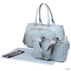 Miss Lulu London LT6638 - Miss Lulu matternity Changing válltáska táska világos kék