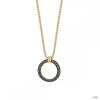 Esprit Női Lánc nemesacél arany Peribess fekete ESNL03009D420