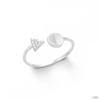 S.Oliver ékszer Női gyűrű ezüst cirkónia 201254 50 (15.9 mm Ă?)