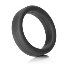 Tantus Super Soft - péniszgyűrű (fekete) péniszgyűrű