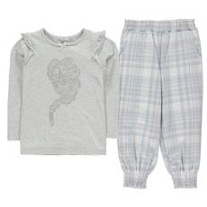 Character gyerek pizsama szett - Jégvarázs- Character Woven Jersey Pyjama Set Infants