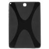 utángyártott Samsung Galaxy Tab A 9.7 LTE (SM-T555) - Telefonvédõ gumi / szilikon (X-line) FEKETE