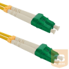 Qoltec Optic Patchcord LC/APC-LC/APC ; Singlemode ; 9/125 ; G652D ; Duplex ; 2m
