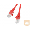 Lanberg Patchcord RJ45 cat. 5e UTP 0.5m red