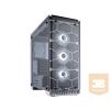 Corsair PC ház, Crystal Series 570X RGB ATX Mid-Tower, fehér
