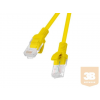 Lanberg Patchcord RJ45 cat. 6 UTP 1.5m yellow