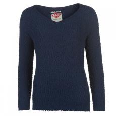 Lee Cooper V-nyakú kötött pulóver női