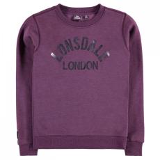 Lonsdale Crew Neck pulóver gyerek lány