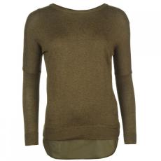 Firetrap Blackseal Khaki kötött pulóver