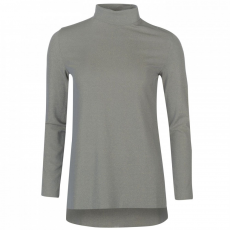 Rock and Rags Lurex Turtle Neck Top