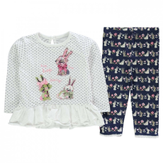 Crafted 2 darabos Top and leggingsz szett baba lány