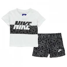 Nike Splice póló and rövidnadrág szett Babies
