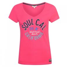 SoulCal Fashion emblémás póló női