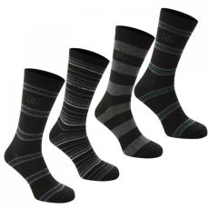 GIORGIO 4 pár/csomag csíkos zokni